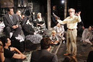 Woody Allen & Franco Zeffirelli at LA Opera, Sex and Saigon onstage