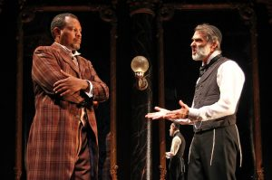 """Shakespeare-inspired """"District Merchants"""" at Costa's Mesa's South Coast Rep"""