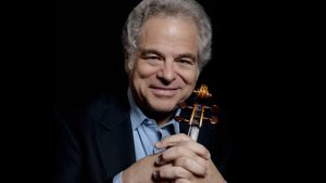 Itzhak Perlman on a wet afternoon; Laguna Beach Music Fest and more on tap